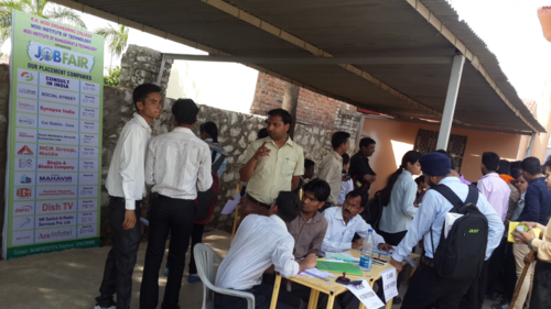 Campus placement Drive by SynapseIndia was conducted in R.N. Modi Engineering College