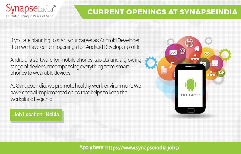 SynapseIndia Current Opening